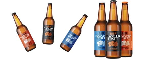 Etiketten für Bier